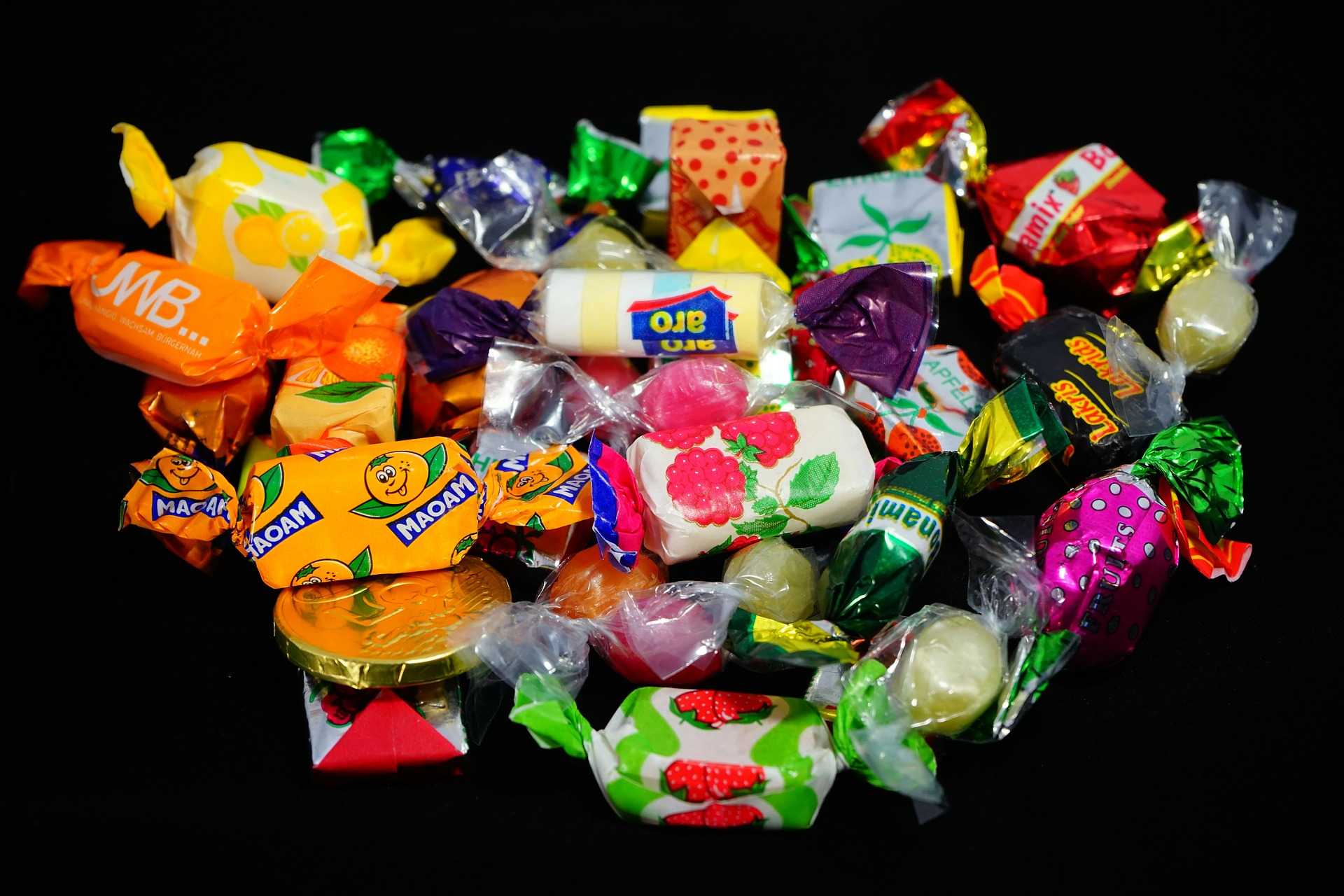 wrapped candy